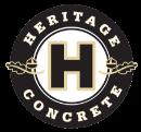 cropped heritage concrete logo